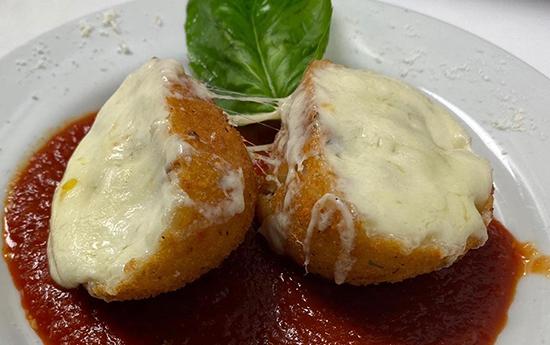 italian rice ball